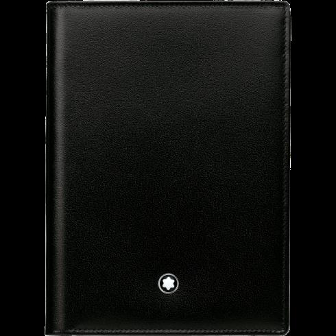 Portafoglio Meisterstück 4 scomparti con tasca trasparente